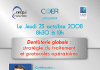 Symposium COEFI du 23 octobre 2008.