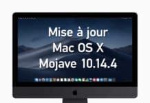 Mise à jour Mac OS X Mojave 10.14.4