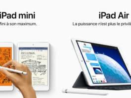 iPad mini et iPad Air