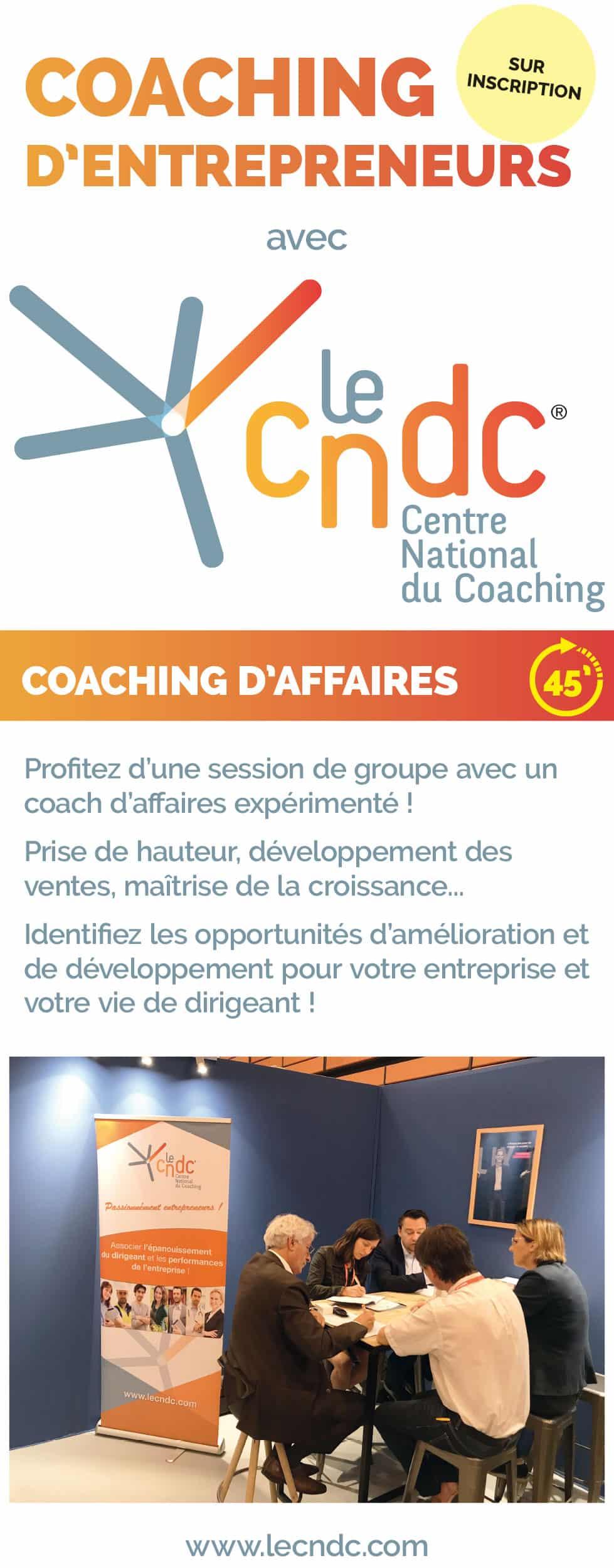 Kakémono Salon Le Centre Naitonal du Coaching