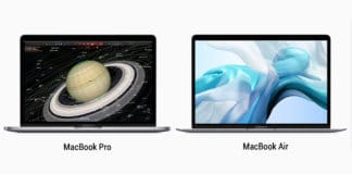 Apple macbook air et macbook pro update