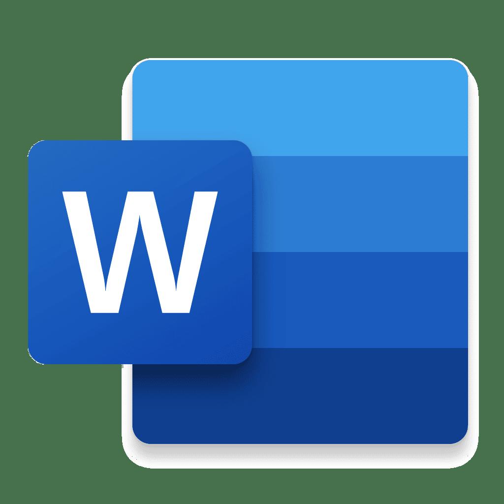 Icône Word Mac