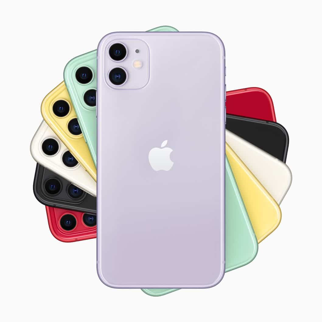 Famille iPhone 11