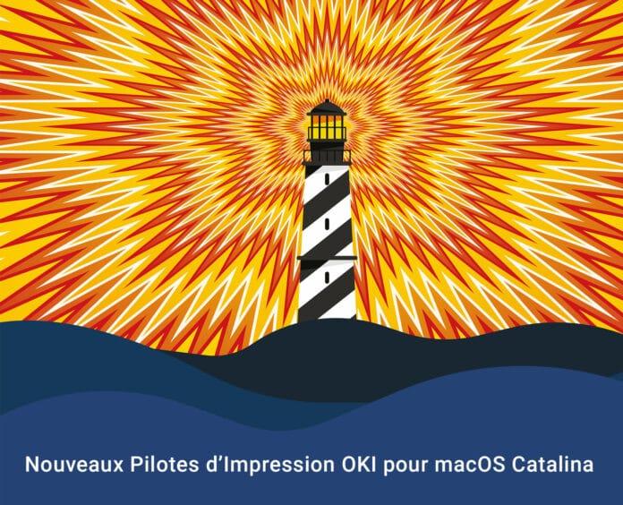 Pilotes Imprimantes OKI macOS Catalina