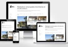 Site internet achitecturalimmo.com pour Jérôme Siméon Conseil Immobilier