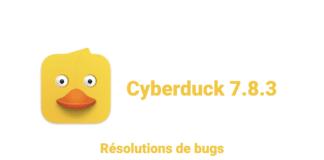Cyberduck 7.8.3