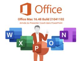 Office Mac 16.48 avec Presenter Coach dans Microsoft PowerPoint