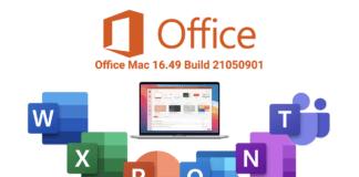 Office Mac 16.49 avec Teams