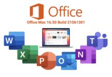 Office Mac 16.50 (Build 21061301)